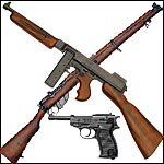 Non Firing World War Military Firearms