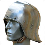 Functional 15th Century Helms