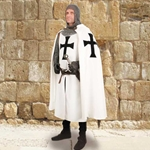 Teutonic Knight's Hooded Cape 101597