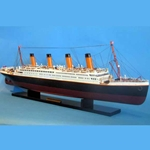 Titanic Wooden Model Ship 40 Inches