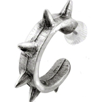 Spike Cuff Earring Pewter Alchemy E221