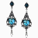 Empress Eugenie Earrings Pewter Alchemy E264