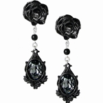 Dark Desires Earrings Pewter Alchemy E291