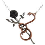 A Rose for Eve Pendant Pewter Alchemy P689