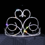 Swirling Heart Tiara 172-13647