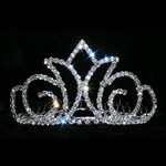 Radiant Crown Tiara Comb