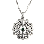 Celtic Flower Necklace