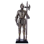 Miniature Armored Knight Statue  11222