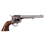 Old West M1873 Colt Cavalry Revolver Nickel Non Firing FD1107NQ