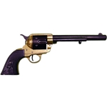 Old West M1873 Cavalry Revolver Replica Two Tone Finish Non-Firing FD1109L