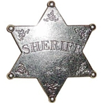 Sheriff Badge Replica OD101