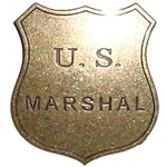 U.S. Marshal Replica Badge