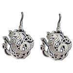 Celtic Seahorse Earrings 132.0678