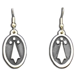 Ermine Spot Earrings 132.0713