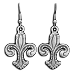 Deluxe Fleur de lis Earrings 132.0906