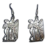 Egyptian Musician Earrings 132.0883