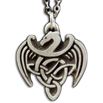 Celtic Dragon Necklace Pendant 126.1408