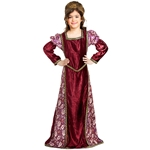 Child's Medieval Princess Velvet Gown C1271