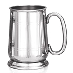 Cavalier C Handle Pewter Tankard One Pint EP070
