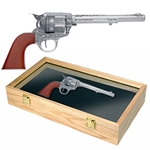 M1873 Antique Gray Cavalry Revolver Set