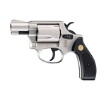 S&W Chief Special Blank Firing Revolver Nickel 9mm 24-38105N