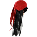 Pirates of the Caribbean Jack Sparrow Scarf with Dreads