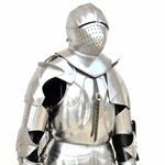 Early 15th Century Milanese Armor,Gothic Suit of Armor 26-300018