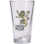 Game of Thrones Lannister Pint Glass