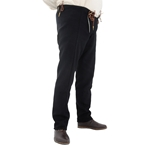 15th Century Pants, Black, Large GB0248