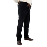 15th Century Pants, Black, XXL GB0250