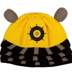 Doctor Who Yellow Dalek Beanie Hat