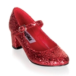 Ruby Schoolgirl Pumps