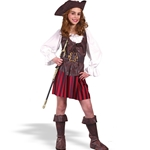 Girl High Seas Buccaneer Child Costume 38-18964