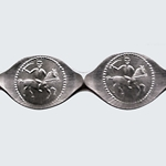 Dothraki Silver Denga Wire Coin 417-DO-DEN