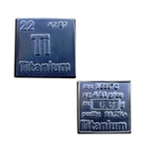Periodic Table Bullion Titanium Square 417-SP-TS