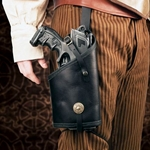 Steampunk Maverick Leather Holster 26-201251
