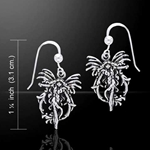 Fire Element Fairy Silver Earrings 52-TE2080