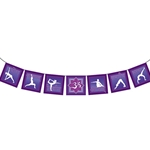 The Path of Yoga-Purple Flags 63-0047