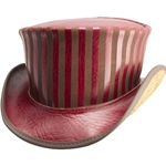Leather Carnival Top Hat