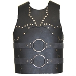 Studded and Ringed Leather Breastplate LARP