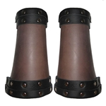 Conqueror Leather Bracers 65-9-37