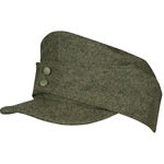 German Mountain Troops Wool Field Cap Enlisted - Bergmutze Cap