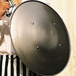 Functional Renaissance Steel Shield 23 Inches 800176