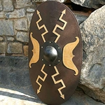 Oval Wooden Roman Shield 801068
