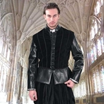 Duke of Suffolk Faux Leather Doublet 882022