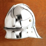 Deep Visored Sallet Helm AH-3822-D