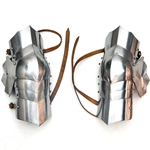 15th Century Archer Knee Armor - 18 Gauge