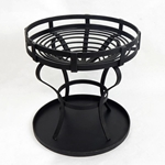 Medieval Fire Pit - Round,Brazier,Camp Fire Grate,Medieval Camp Warmer,Fire Grate,Wrought iron Fire Grate,Camp Warmer