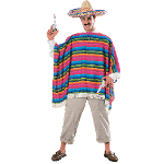 Mexican Serape  Adult Costume 100-126171