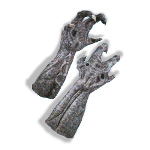 Alien Deluxe Latex Hands 100-126607